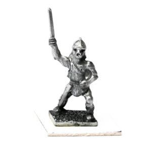 Viking brandishing sword