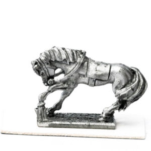 Cavalry Horse Pawing Ground