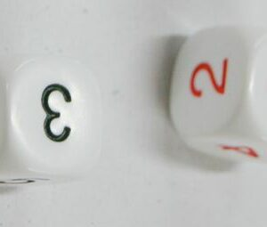 Average Dice (Black & Red)