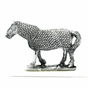 Armoured Horse Walking