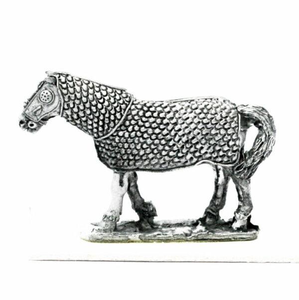Armoured Horse Walking