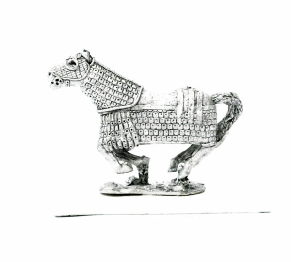 Armoured Horse, galloping