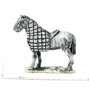 Half Armoured Horse, standing