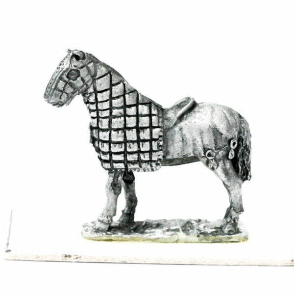 Half Armoured Horse, standing