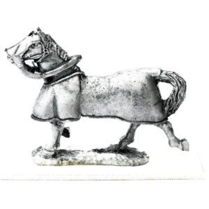 Horse, Running, barding