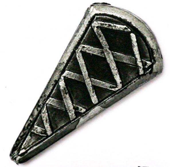 Kite Shield, criss-cross