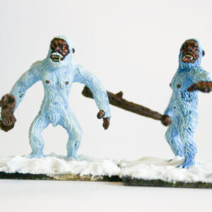 Pair of Yetis