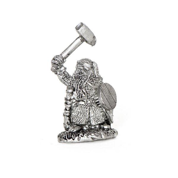 Dwarf with Warhammer