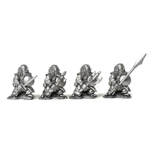 4 Dwarf Warriors