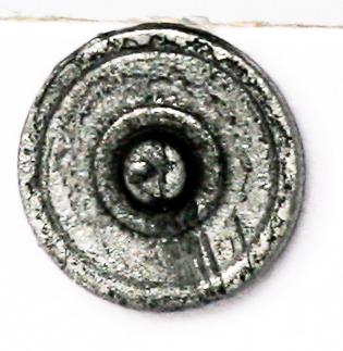 Round bossed shield