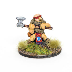 Dwarf with 2 handed weapon