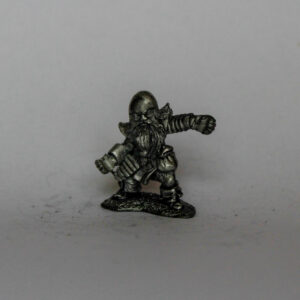 Dwarf with no weapons