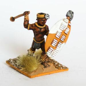 Zulu with Knobkerrie