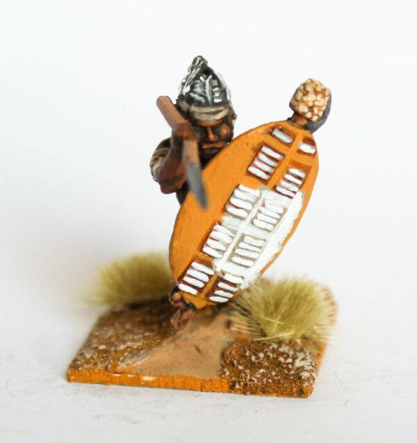 Zulu thrusting overarm