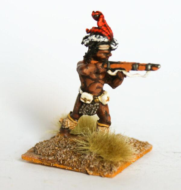 Zulu firing rifle