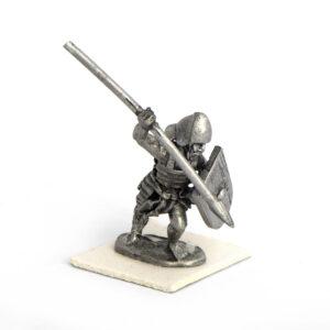 Shardana guard with spear